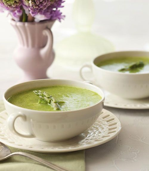 Chilled Asparagus Bisque from Good Housekeeping