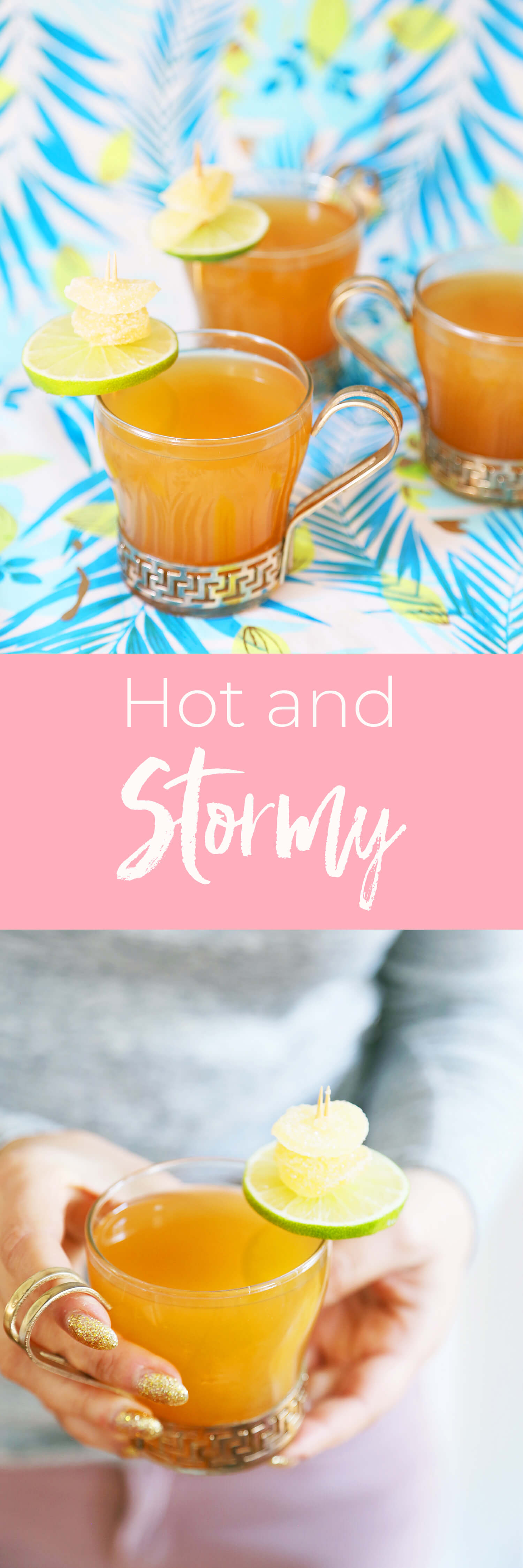 My Warm Take on a Summer Classic: The Hot & Stormy