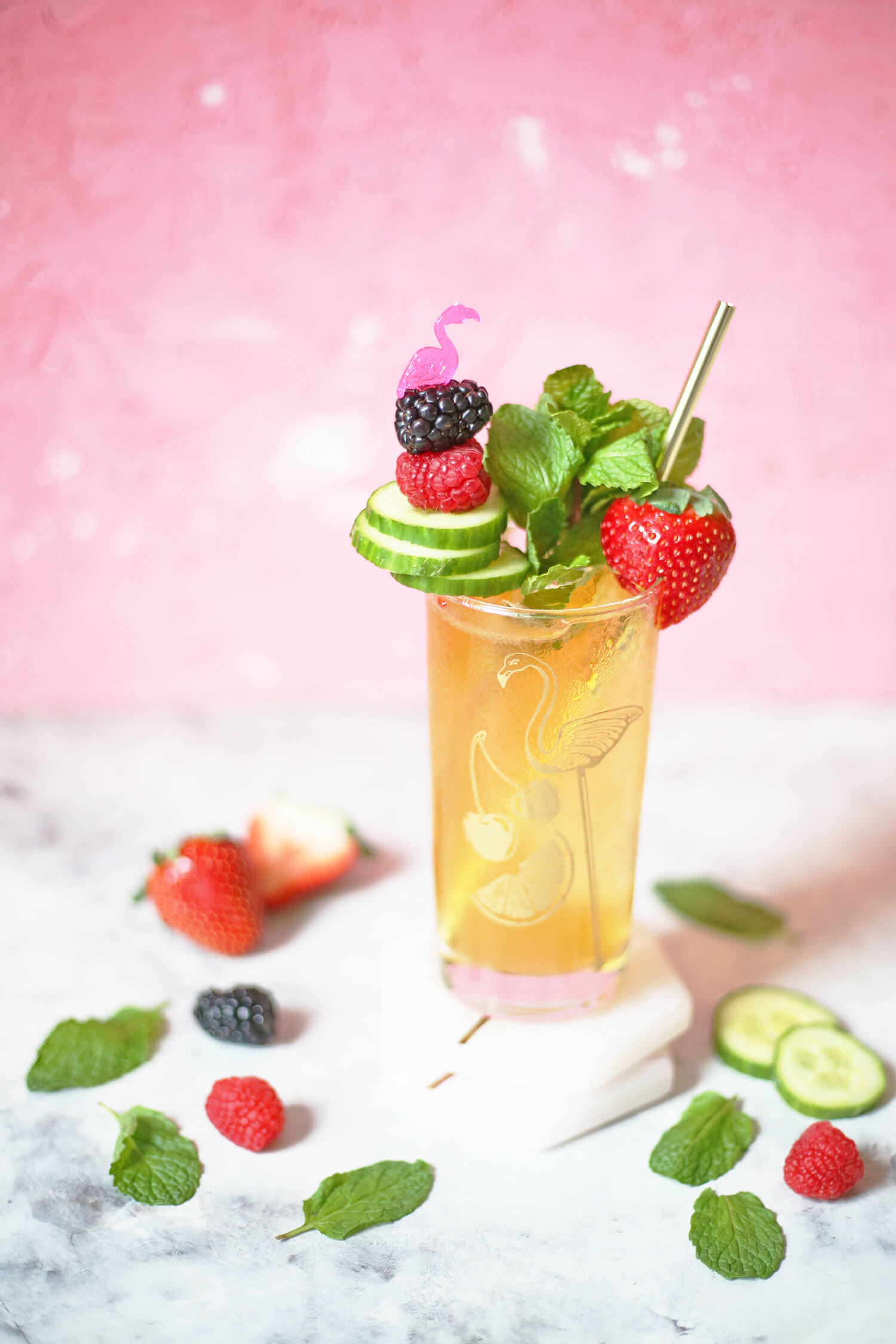 Winter Pimm's Cup