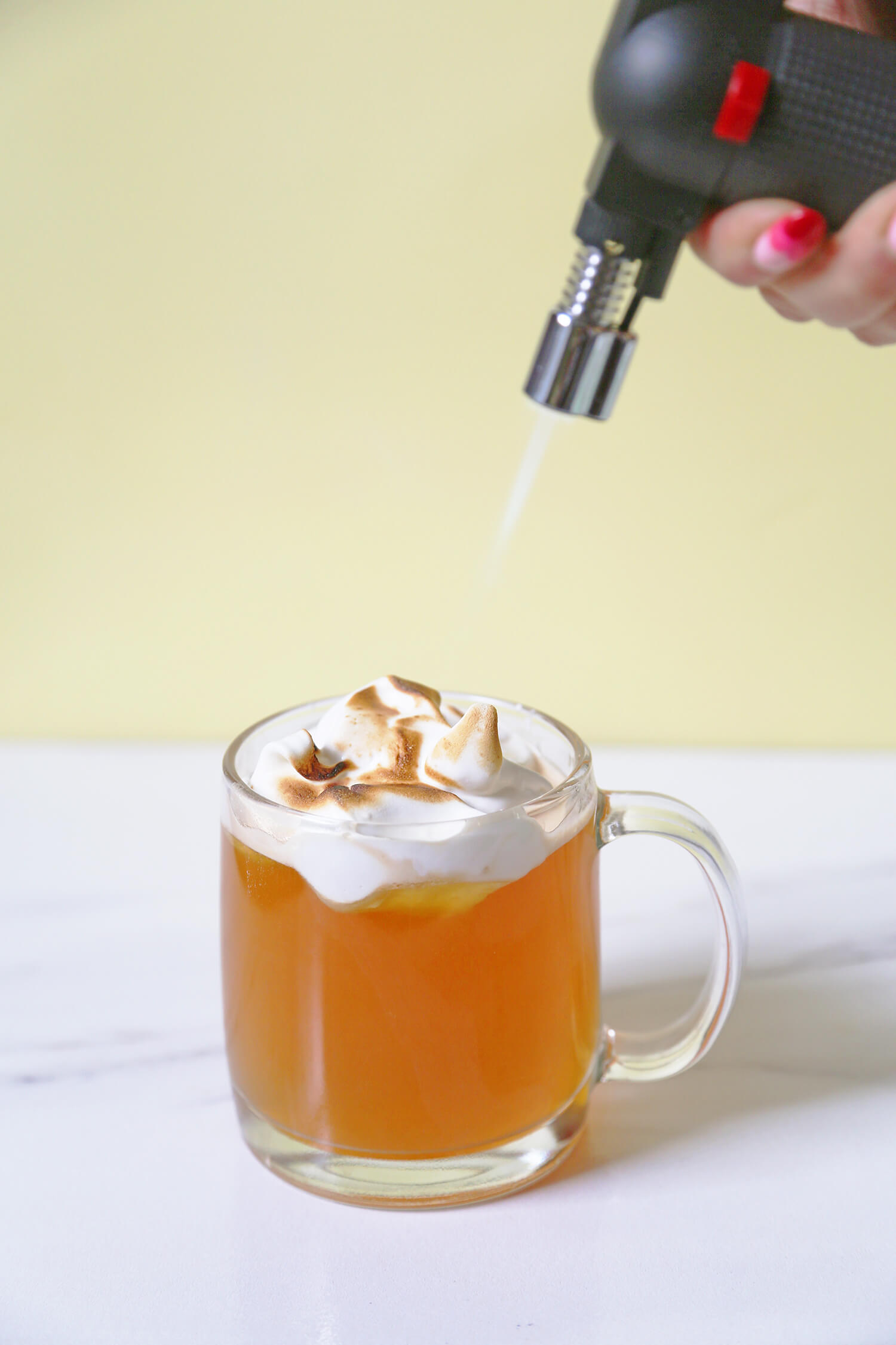 Lemon Meringue Hot Toddy
