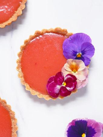 Blood Orange Negroni Tartlets