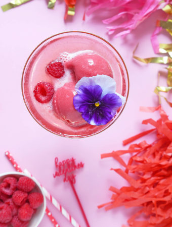 The Perfect Galentine's Day Brunch Cocktail