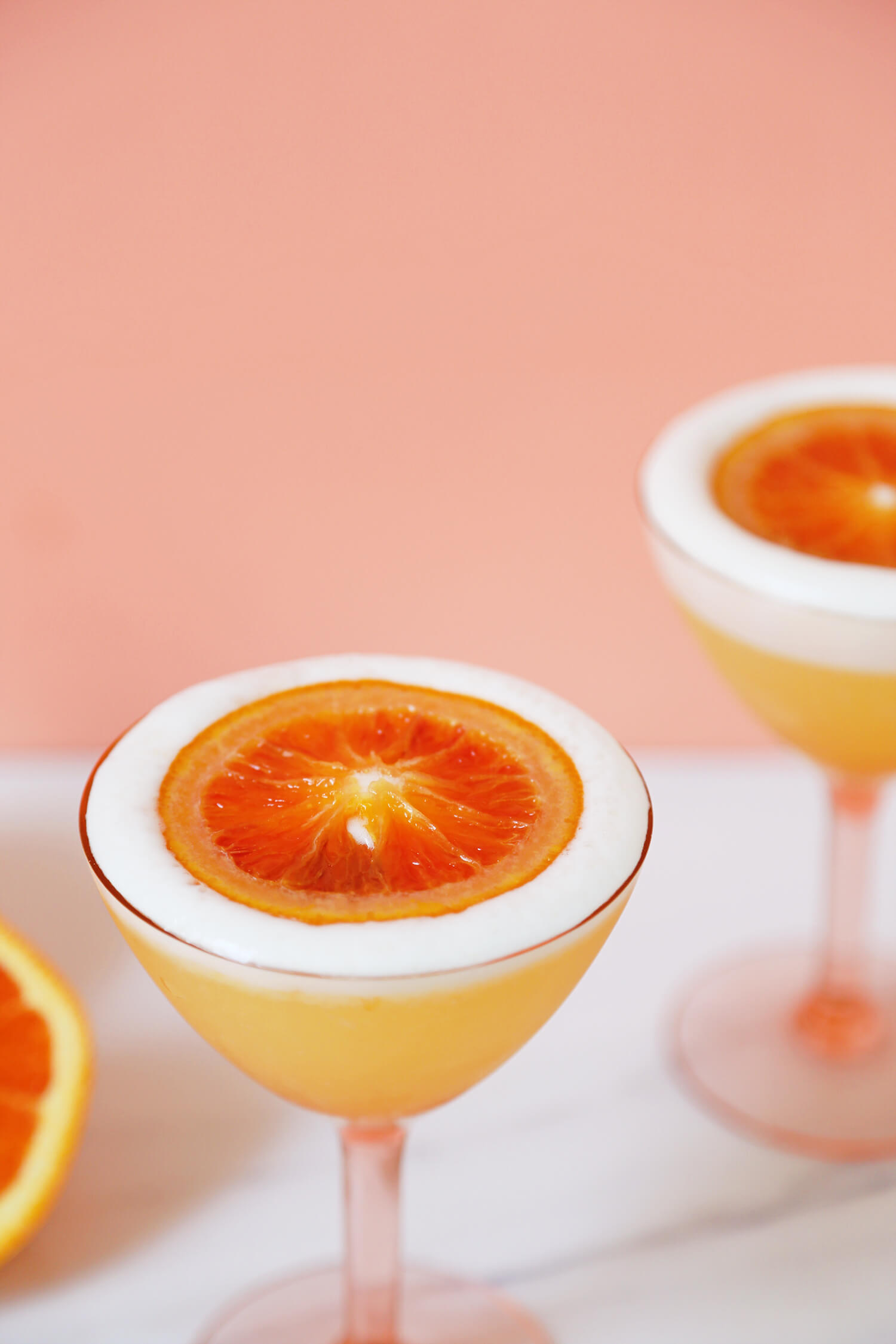 Drink a Cara Cara Mezcal Sour this Cinco de Mayo