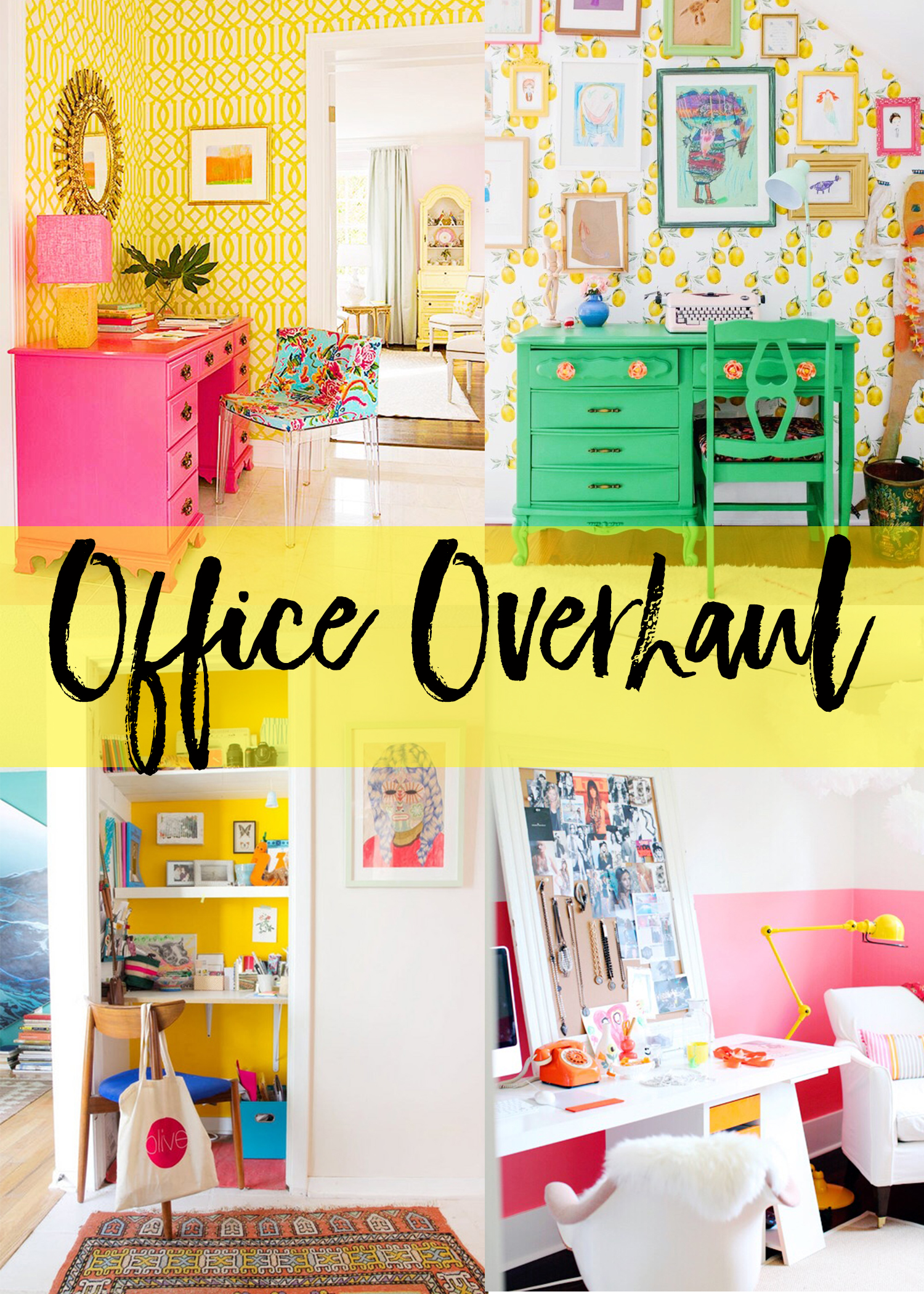 One Room Challenge | Introducing the Office Overhaul