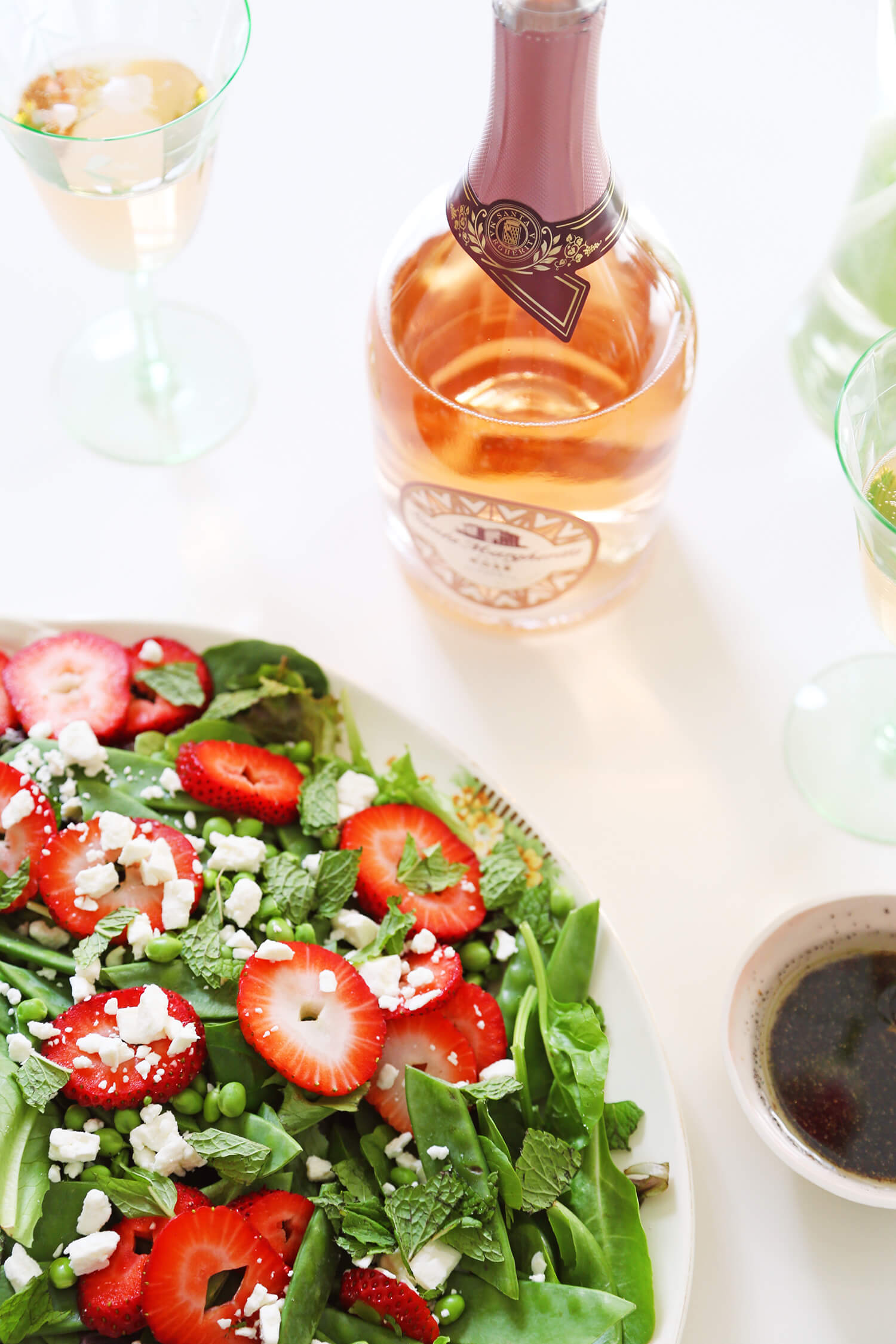 Food + Wine Pairing for Spring Entertaining