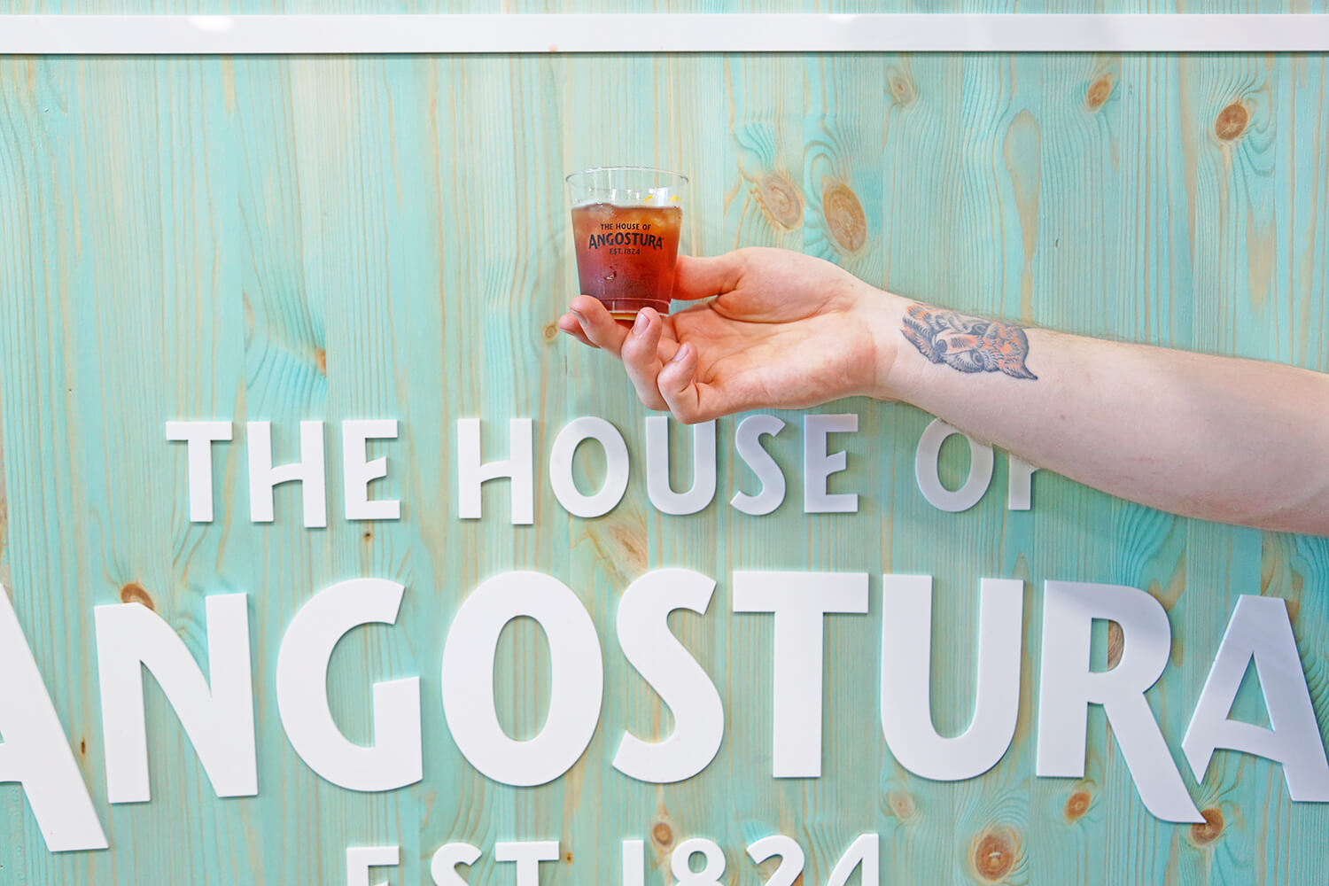 BCB Brooklyn with Angostura Bitters