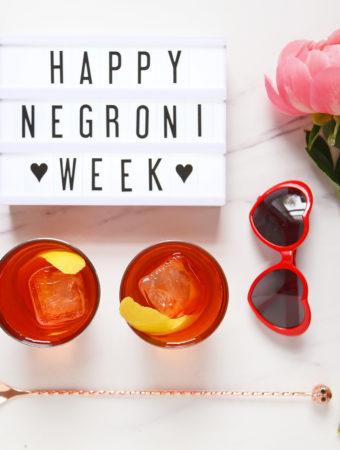 Celebrate Negroni Week with the Rosita