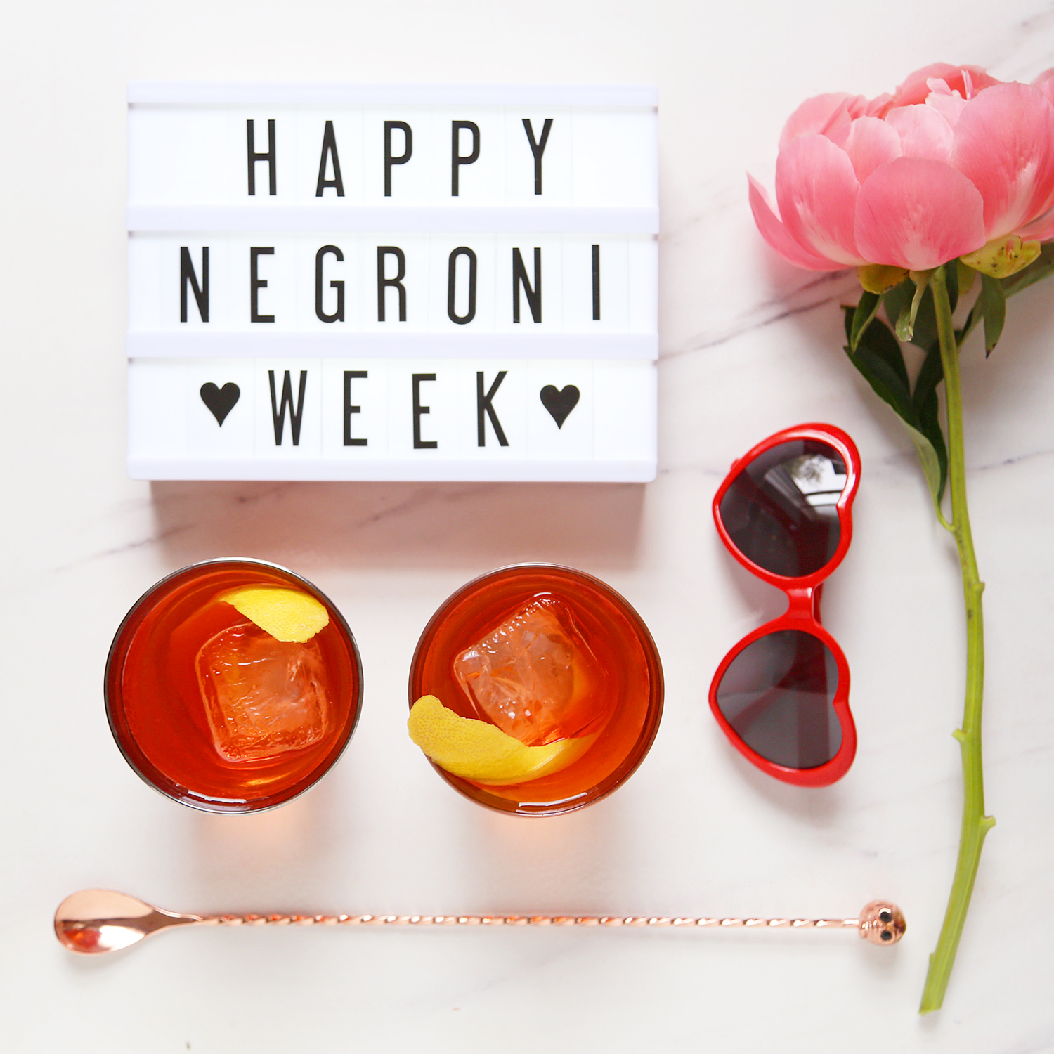 Celebrate Negroni Week with the Rosita
