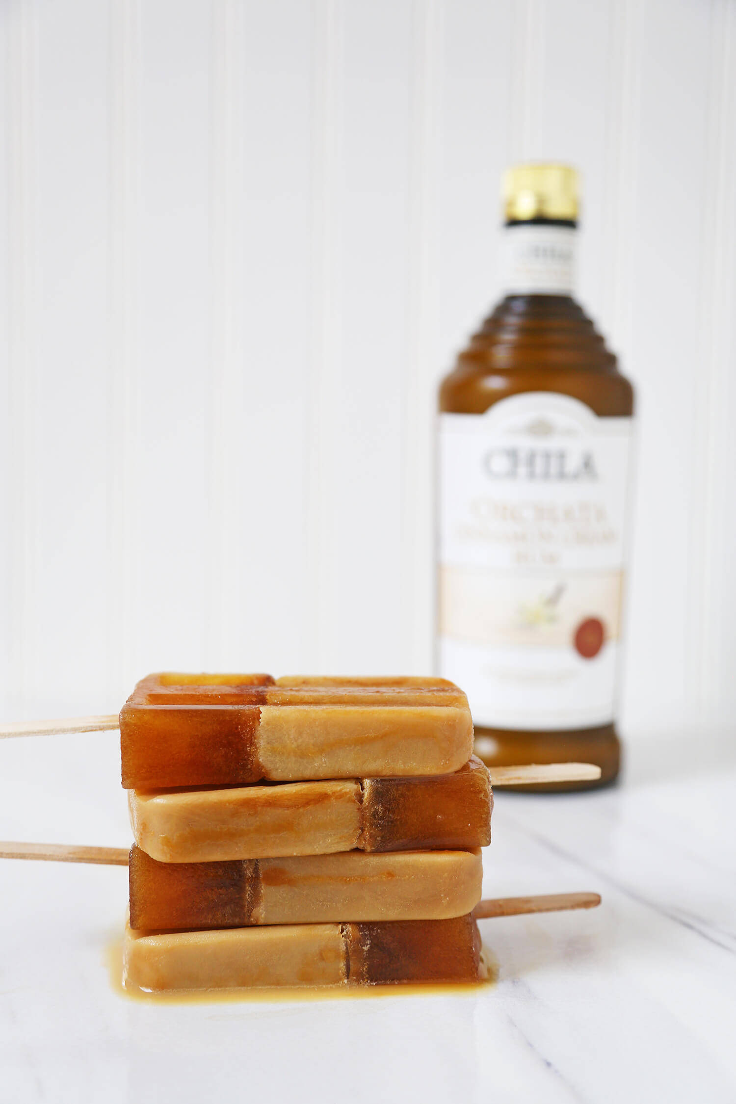 Boozy Cold Brew Popsicles