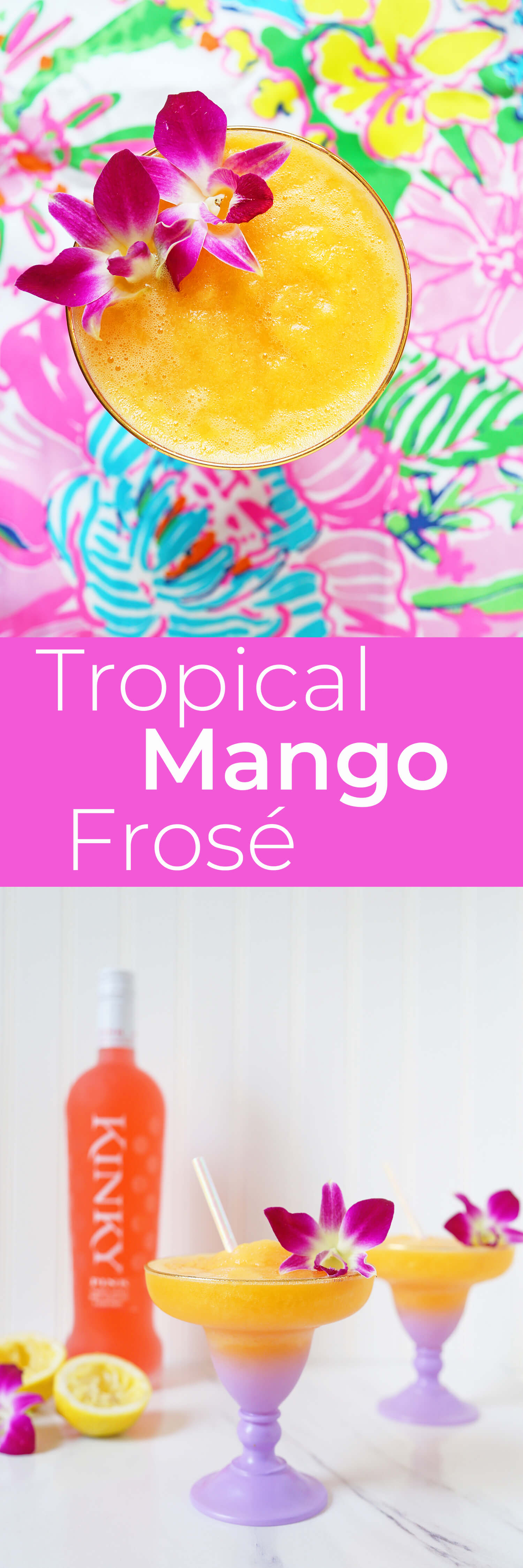 Tropical Mango Frosé