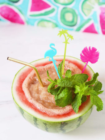 Blended Watermelon Mojitos + Weekday Weekend Giveaway