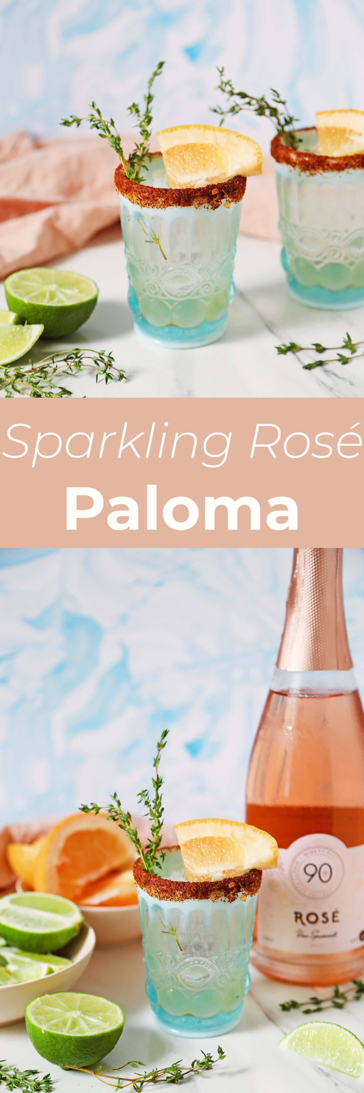 Sparkling Rosé Paloma