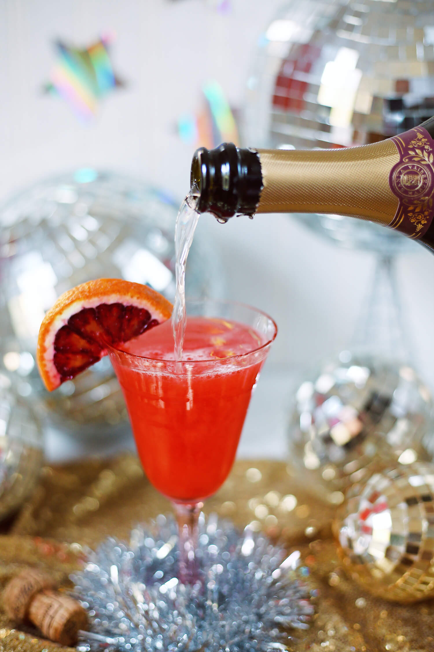 Bitter Blood Orange French 75