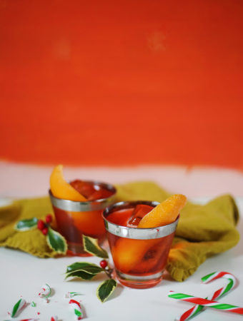 All I Want For Christmas is Gin: Peppermint Negroni