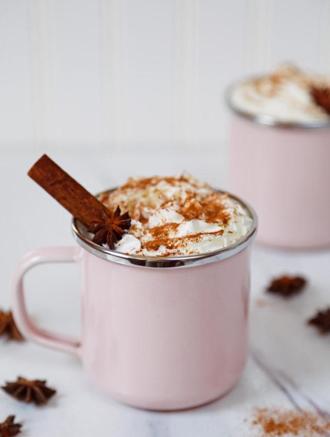 Boozy Chai Hot Chocolate