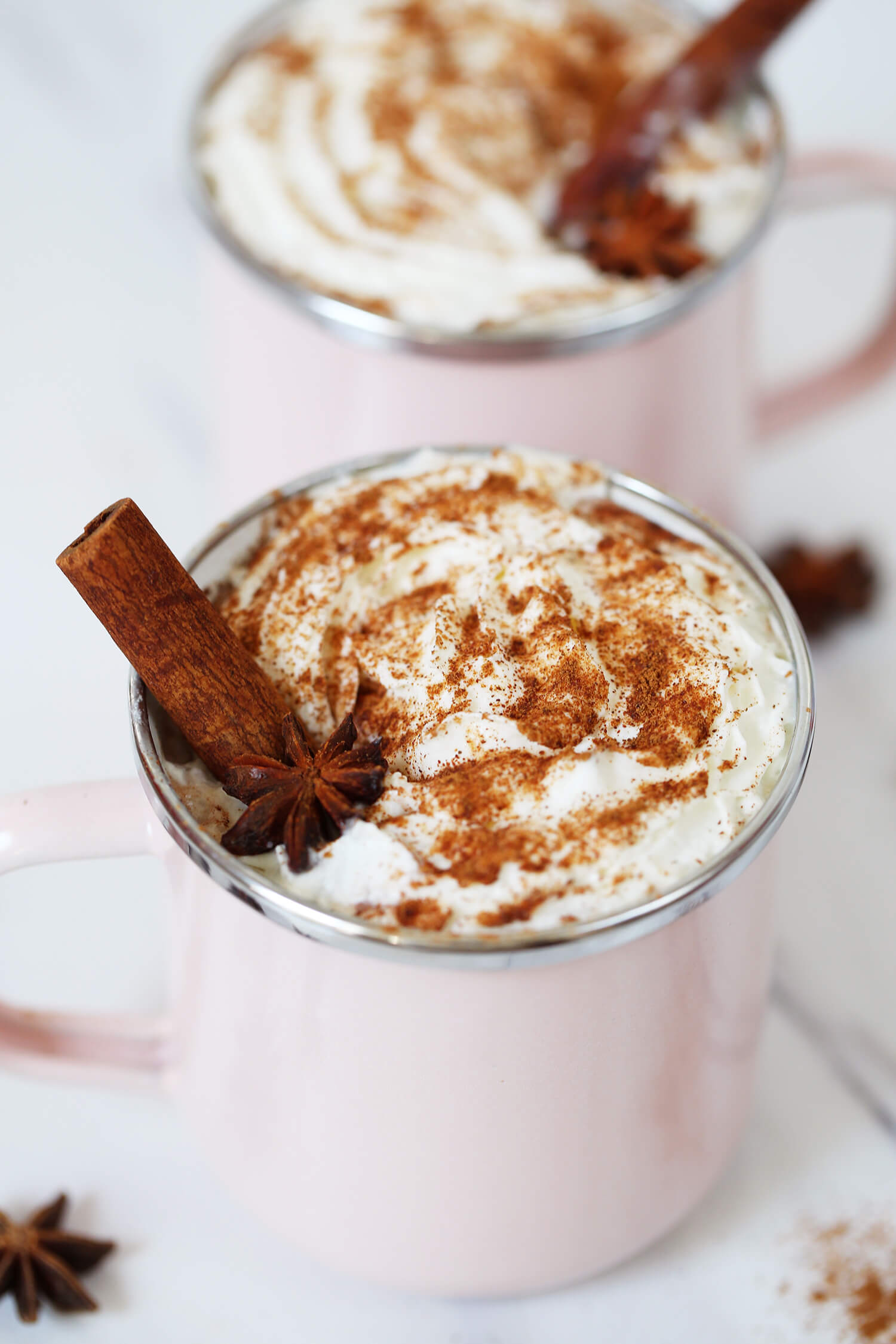 Boozy Chai Hot Chocolate