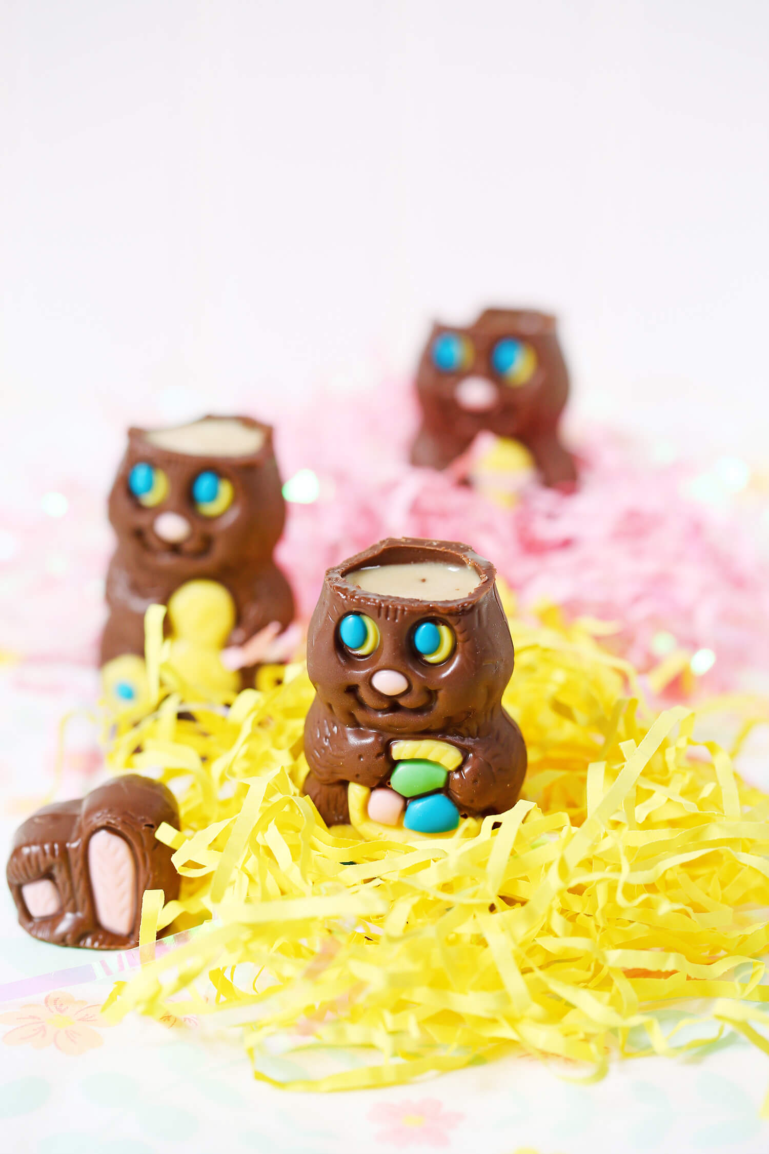 Chocolate Easter Bunny Shots