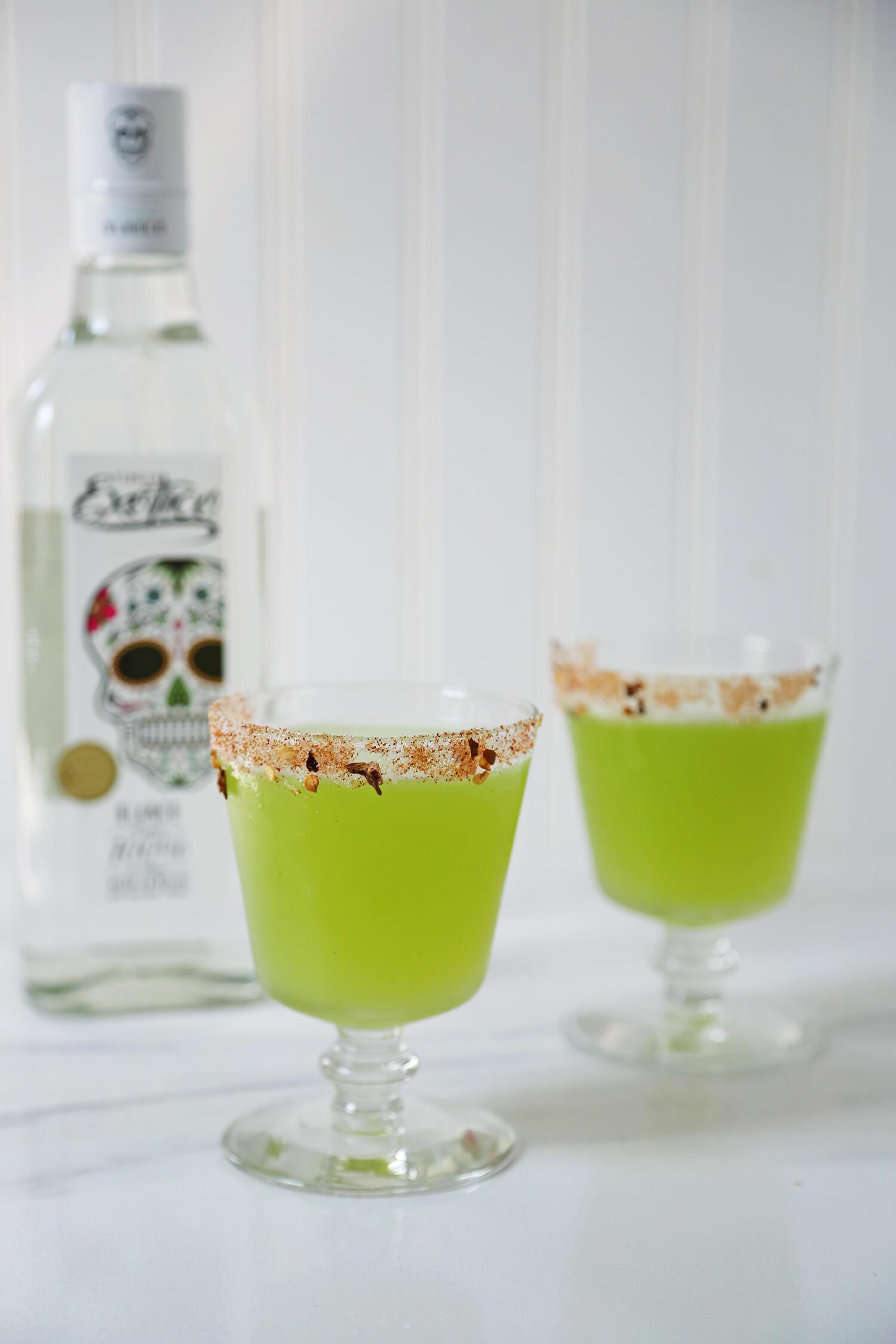 The Green Garden Cocktail