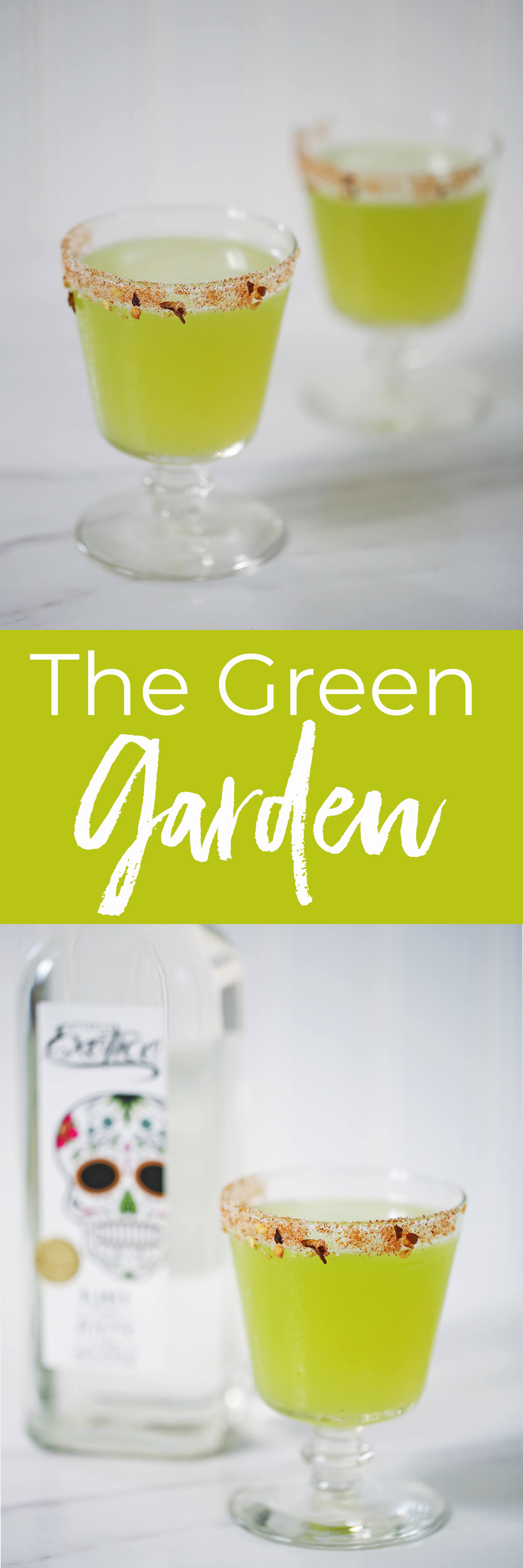 The Green Garden Cocktail