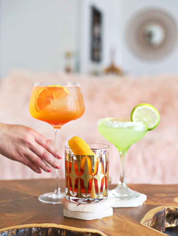 Easy 3 Ingredient Quarantine Cocktails